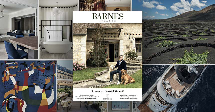 L'édition automne-hiver 2019 du magazine BARNES sous le signe de la French Touch !